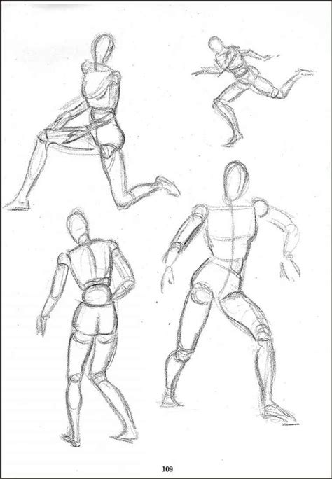 Sketches Poses by Guillaume Legoupil Tutoriel Dessin 2