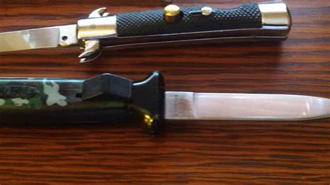 automatic knives cheap rostfrei nato otf and other cheap but collectable
