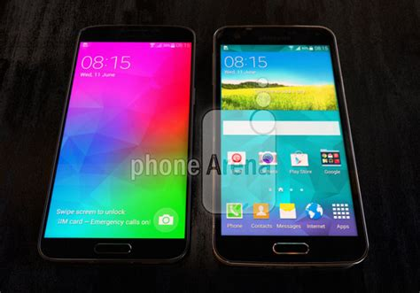 Samsung Galaxy S5 Big samsung galaxy f s5 prime pictured with big screen