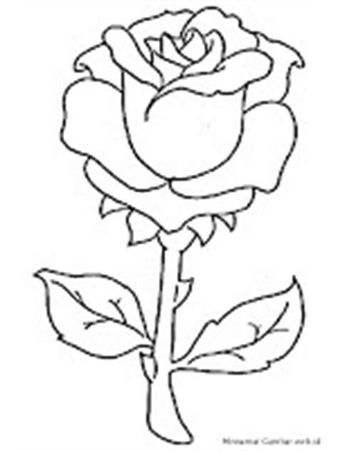 Mewarnai Gambar Bunga | Mewarnai Gambar