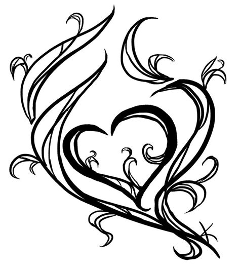 simple love heart tattoo designs tattoos designs ideas and meaning tattoos for you