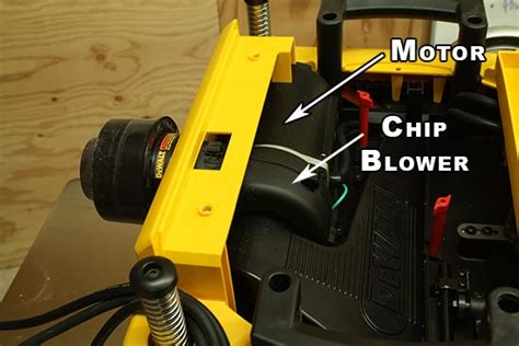 Chip Blower dewalt dw735x review 13 quot thickness planer best in class