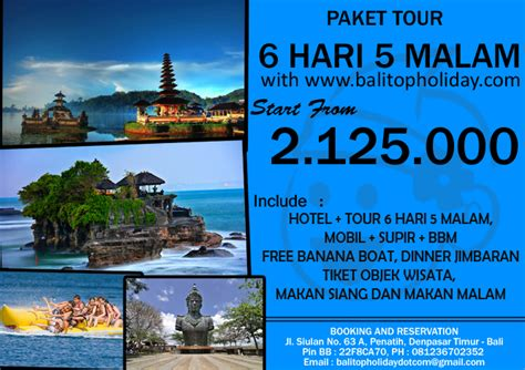 Hlc Paket Travel 5 In 1 paket tour