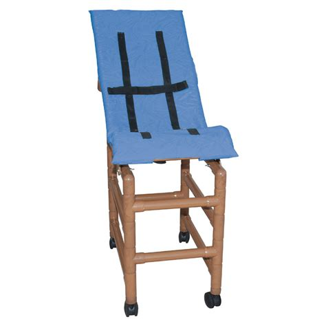 reclining shower chair wood tone large reclining pediatric shower chair