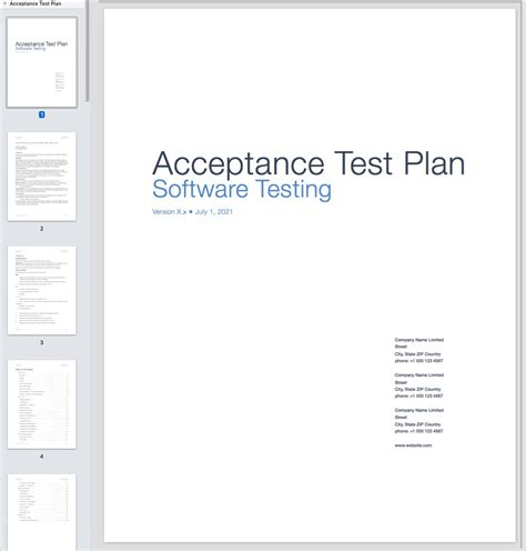 Gallery Of User Acceptance Test Template Uat Test Plan Template