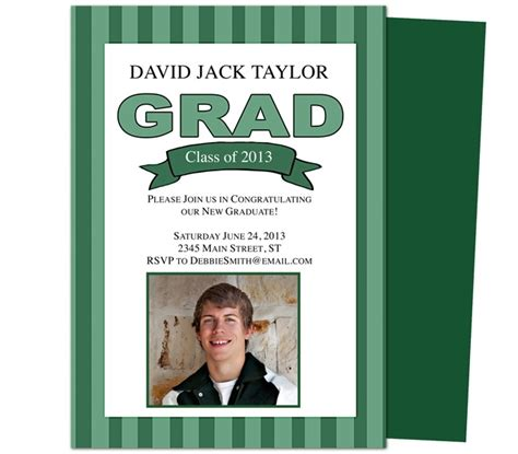 graduation announcement template 46 best printable diy graduation announcements templates