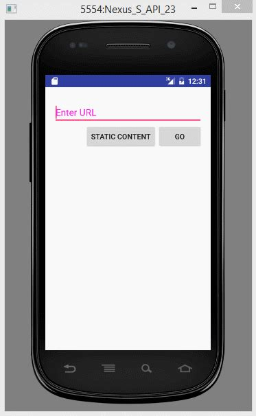 android webview exle android webview tutorial
