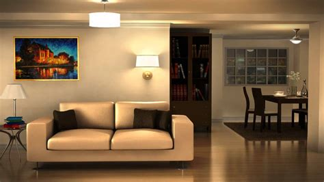 virtual living room home design