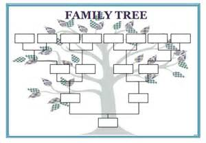 Family Tree Template Docs by Blank Family Tree Template 31 Free Word Pdf Documents