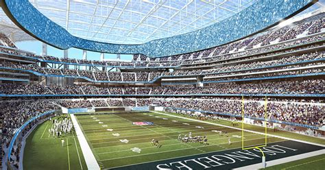 la rams chargers stadium  open  year   expected fox sports