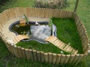 bassin d ext 233 rieur pour tortues jardin
