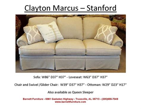 average sofa length barnett furniture average size sofa 84 quot 89 quot