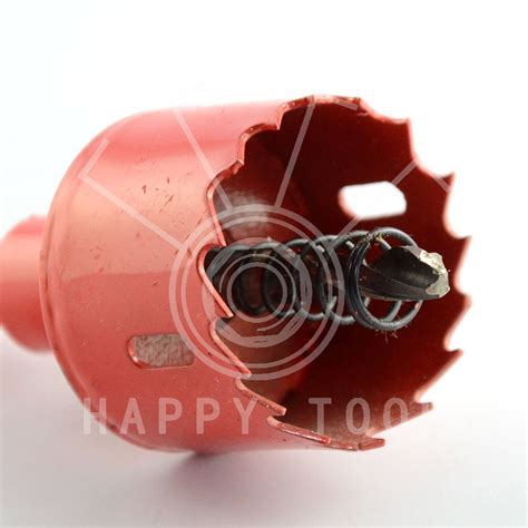 Drilling Holes For Door Knobs by 40mm Bench Drill Bit Saw Drilling Door Knobs Iron