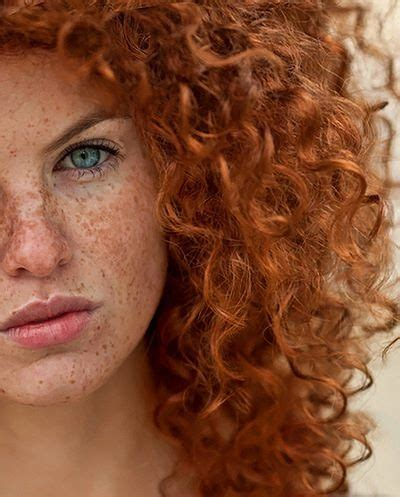 red headed woman freckles curly redhead and freckles redheads pinterest