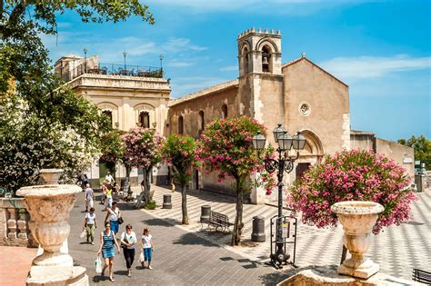 Taormina on your own   from Catania Port