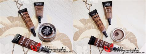 Makeup Forever Eyebrow Gel bubbly mochi a comparison nyx eyebrow gel makeup for