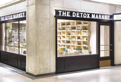 The Detox Market by The Detox Market Travels To Toronto S Union Station With