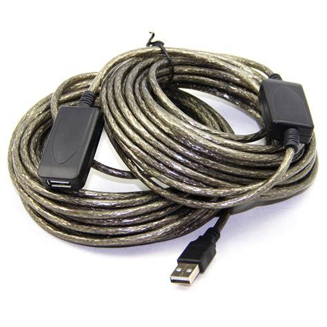 Kabel Ekstensi Usb Ke 1 kabel ekstensi usb ke 20 meter black jakartanotebook