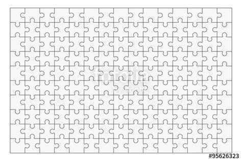 quot jigsaw puzzle blank template 150 pieces quot stock image and