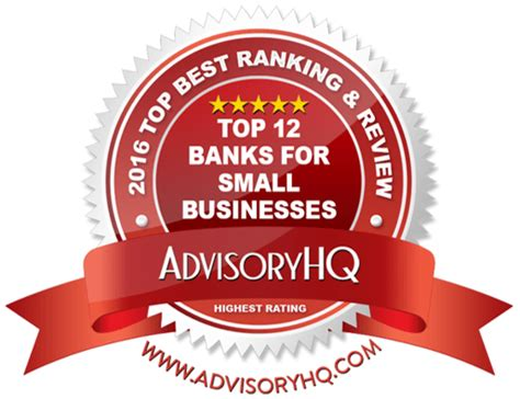 best business banking top 12 best banks for small business banking ranking