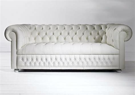 White Leather Chesterfield Sofa White Leather Chesterfield For The Home Pinterest