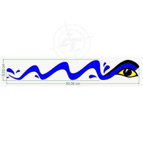 Aufkleber Boot by Bootsaufkleber Welle Wasserwelle Mit Sphinxauge