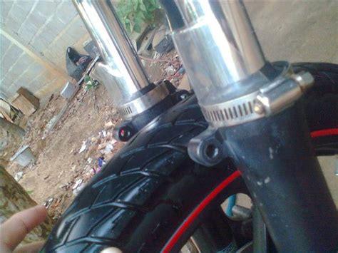 Karet Shock Breaker Depan Original Honda Prospect Motor Untuk Jazz pasang pelindung shock depan di megapro pertamax7