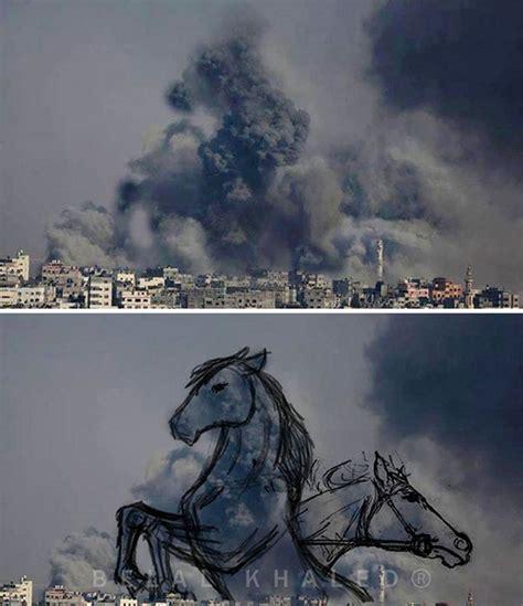 imagenes impactantes qe os gustaran fotos impactantes palestinos transforman bombardeos