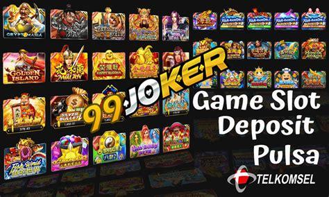 slot game pulsa telkomsel  aman potongan murah