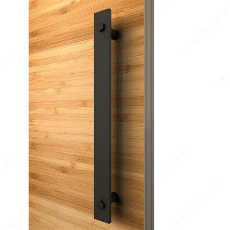 barn door pull barn door single pull richelieu hardware