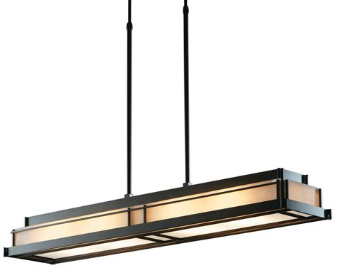 Rectangular Kitchen Island Lighting Hubbardton Forge 137710 Stepped Transitional Rectangular Kitchen Island Billiard Light Hf 137710