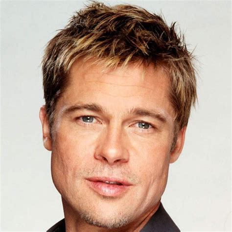hair styles with one inch hair for men brad pitt hairstyles men s hairstyles haircuts 2018