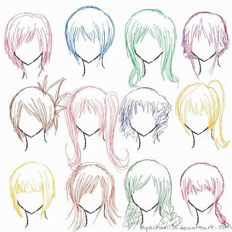 Anime Hair by Anime Hairstyles For Find Your Hair Style