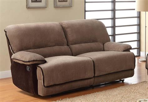 Reclining Sofa Chair Sofa Covers For Recliners Reclining Sofa Slipcover Low Back Ribbed Texture Chocolate Adapted