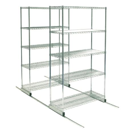 chrome high density shelving ktw inc