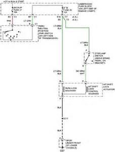 Service Brake System Envoy Gmc Envoy Xl Shift Interlock System Wiring Circuit