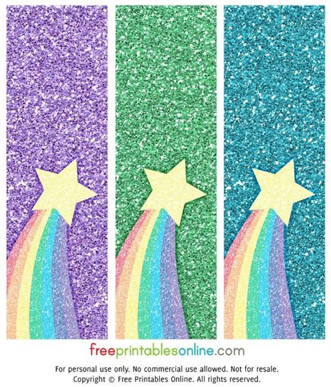 printable rainbow bookmarks 581 best rainbow theme printables images on pinterest