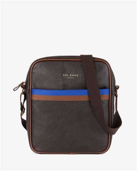 Ravee Bag From Ted Baker by Lyst Ted Baker Cross Flight Bag In Brown For