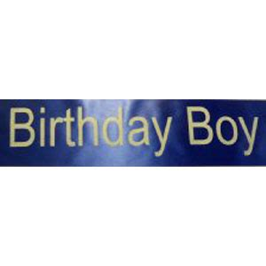 Sale Sash Selempang Birthday Boy birthday boy sash supplies from novelties direct novelties direct ltd