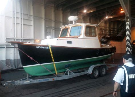 freedom boat service  royal lowell design  lobsterpicnic boat captain woody