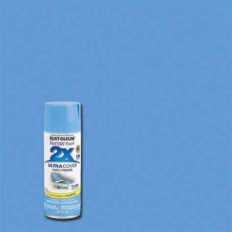 house spray painter rust oleum painter s touch 2x 12 oz gloss spa blue