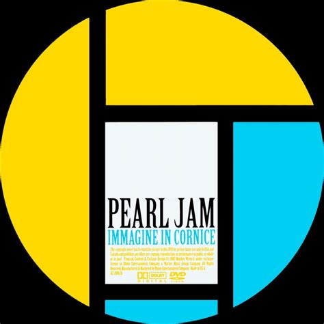 pearl jam immagine in cornice scanned dvd labels