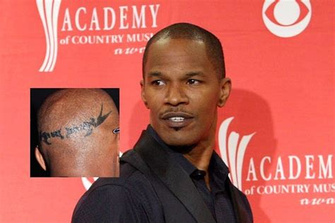 jamie foxx tattoo tattoos the best and the worst bizarbin