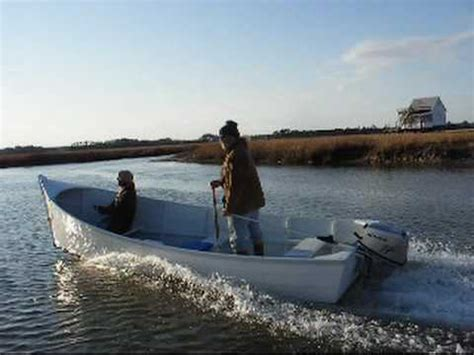 thomas j hill boats long point outboard skiff by jj youtube