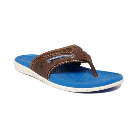 mens sperry sandals sperry top sider billfish sandals in blue for brown