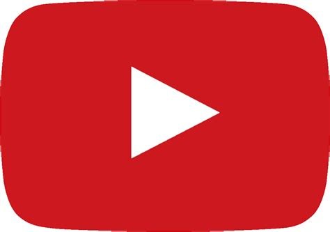 youtube red color youtube play button png cliparts co