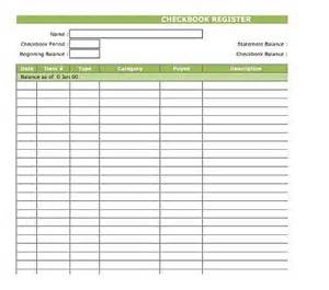 excel checkbook register template best photos of check register template free printable