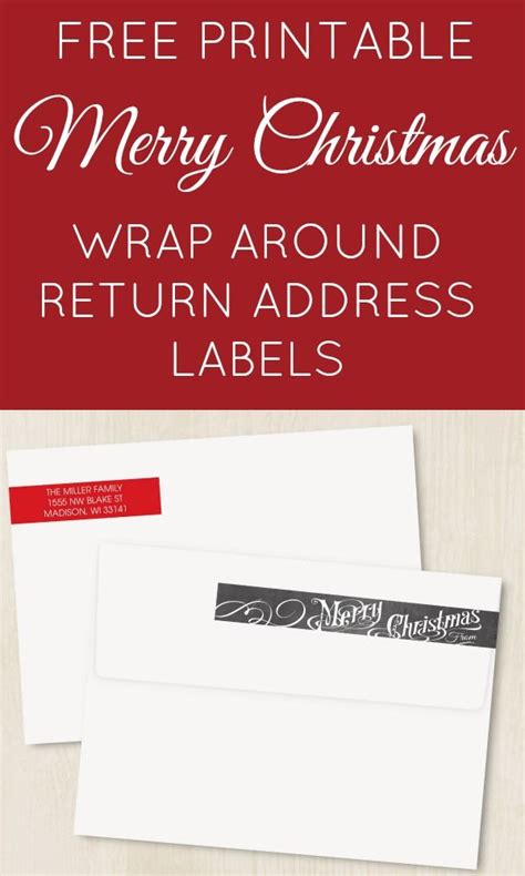 return address template free labels printable for word masir