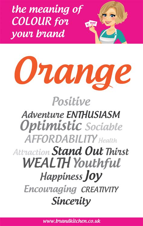 meaning of color orange the meaning of the colour orange for your brand brand