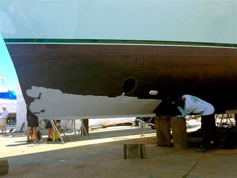 yacht jobs fort lauderdale yacht hull refit job in fort lauderdale by dolfab metal